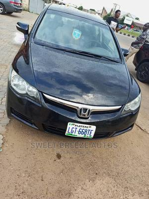 Honda Civic 2007 Black | Cars for sale in Plateau State, Jos