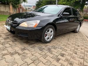 Honda Accord 2007 Sedan EX Black | Cars for sale in Abuja (FCT) State, Jabi