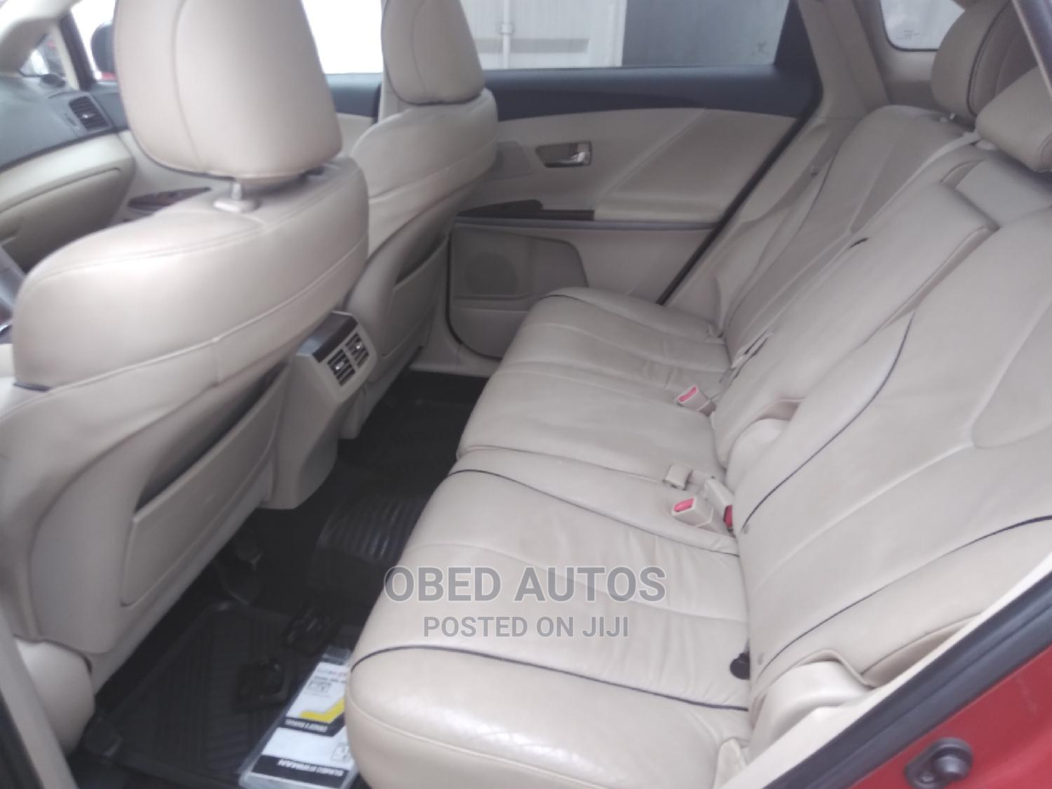 Toyota Venza 2010 Red   Cars for sale in Port-Harcourt, Rivers State, Nigeria