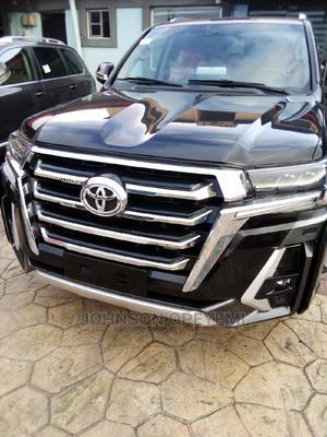 Toyota Land Cruiser 2017 5.7 V8 VXR Black | Cars for sale in Lagos State, Ikeja