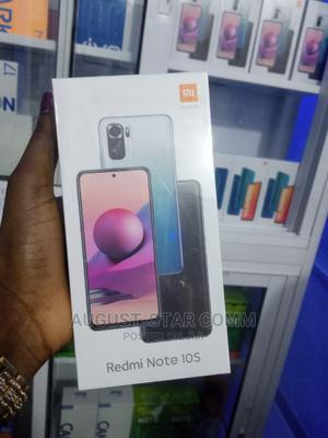 New Xiaomi Redmi Note 10S 128 GB Gray   Mobile Phones for sale in Lagos State, Ikeja
