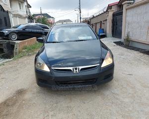Honda Accord 2007 Black   Cars for sale in Lagos State, Ikorodu