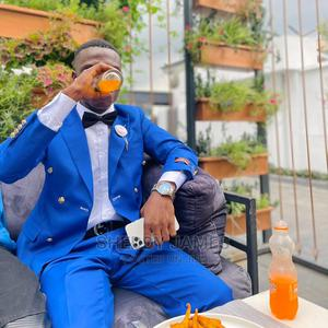 Royal Blue Double Breasted Suit | Clothing for sale in Abuja (FCT) State, Central Business District