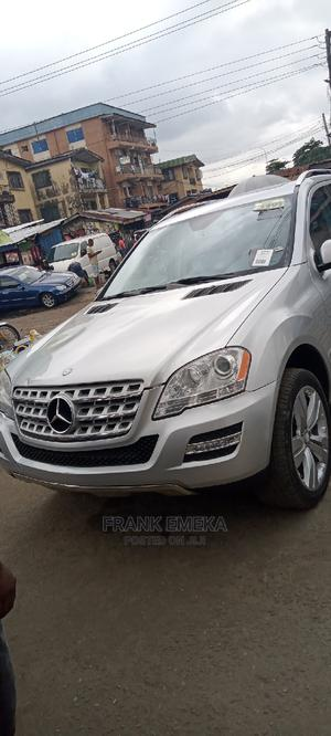 Mercedes-Benz M Class 2010 ML 350 4Matic Silver   Cars for sale in Lagos State, Apapa