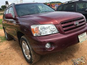 Toyota Highlander 2005 Red | Cars for sale in Abuja (FCT) State, Apo District