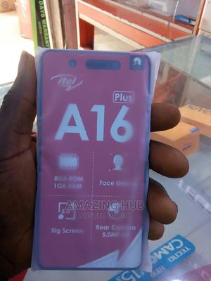 New Itel A16 Plus 8 GB Gold | Mobile Phones for sale in Kwara State, Ilorin East