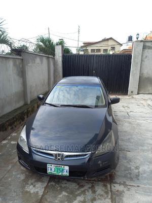 Honda Accord 2007 Sedan EX-L V-6 Automatic Black | Cars for sale in Oyo State, Ibadan