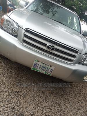 Toyota Highlander 2003 Limited V6 AWD Silver | Cars for sale in Abuja (FCT) State, Gwarinpa