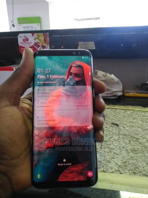 Samsung Galaxy S8 64 GB Blue | Mobile Phones for sale in Lagos State, Gbagada