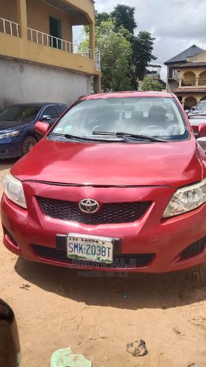 Toyota Corolla 2009 Red   Cars for sale in Lagos State, Abule Egba