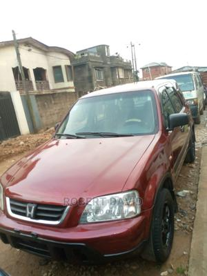 Honda CR-V 2000 2.0 4WD Red   Cars for sale in Lagos State, Mushin