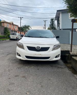 Toyota Corolla 2009 White   Cars for sale in Lagos State, Ogba
