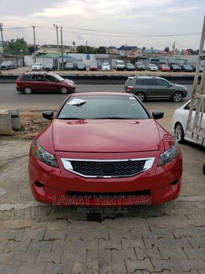 Honda Accord 2009 Coupe 2.4 EX Automatic Red | Cars for sale in Lagos State, Ikeja