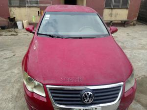 Volkswagen Passat 2008 2.0 Red | Cars for sale in Lagos State, Alimosho