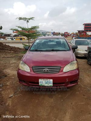 Toyota Corolla 2003 Red | Cars for sale in Lagos State, Ojodu