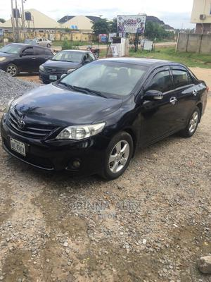 Toyota Corolla 2010 Black | Cars for sale in Abuja (FCT) State, Lugbe District