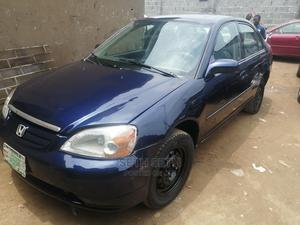 Honda Civic 2003 Blue   Cars for sale in Lagos State, Ifako-Ijaiye