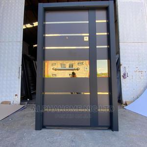 Gold Design Luxury Entrance Door | Doors for sale in Lagos State, Orile
