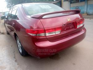 Honda Accord 2004 Automatic Red   Cars for sale in Lagos State, Ikeja
