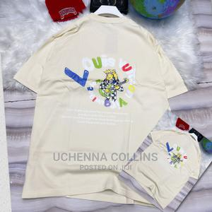 Original Louis Vuitton Colar Neck T-Shirts | Clothing for sale in Lagos State, Surulere