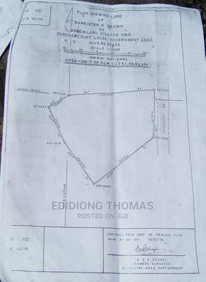 22 Plots of Land With C of O at Okporo Road Behind Shell | Land & Plots for Rent for sale in Rivers State, Port-Harcourt