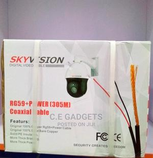 Sky Vision Rg59+Power (305M) Coaxial Cable | Accessories & Supplies for Electronics for sale in Lagos State, Ojo