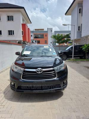 Toyota Highlander 2015 Black | Cars for sale in Lagos State, Alimosho
