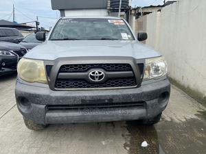 Toyota Tacoma 2011 Double Cab V6 Automatic Silver | Cars for sale in Lagos State, Ajah