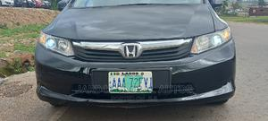 Honda Civic 2012 Black | Cars for sale in Abuja (FCT) State, Lugbe District