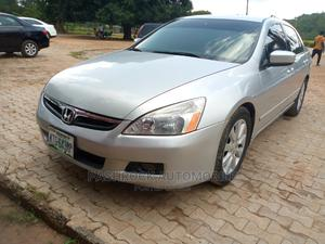 Honda Accord 2005 Sedan LX V6 Automatic Silver | Cars for sale in Abuja (FCT) State, Lokogoma