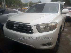 Toyota Highlander 2008 Sport White   Cars for sale in Lagos State, Ikeja