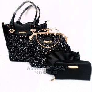 Ladies Black 4-In-1 Handbag   Bags for sale in Lagos State, Ojo