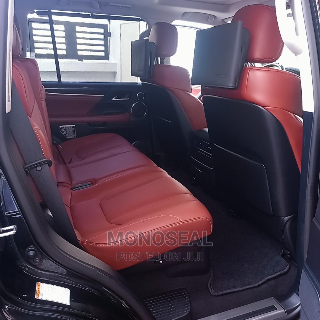 New Lexus LX 2021 570 AWD Black   Cars for sale in Lekki, Lagos State, Nigeria