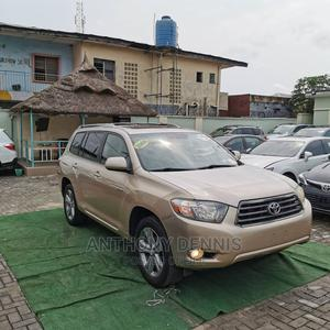Toyota Highlander 2008 Sport Gold | Cars for sale in Lagos State, Ilupeju