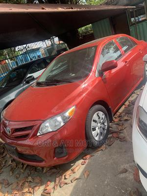 Toyota Corolla 2013 Red   Cars for sale in Lagos State, Surulere