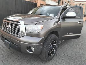 Toyota Tundra 2010 Double Cab 4x4 Limited Gray   Cars for sale in Lagos State, Ogba