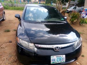 Honda Civic 2007 Black | Cars for sale in Abuja (FCT) State, Gwarinpa