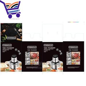 Pinnacle Yam Pounder and Food Processor - 3 Litres | Kitchen Appliances for sale in Edo State, Benin City