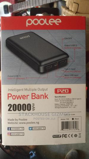Poolee 20,000MAH Power Bank Fast Charging | Accessories for Mobile Phones & Tablets for sale in Lagos State, Surulere