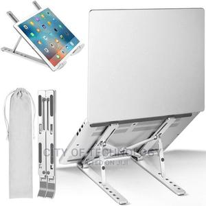 Adjustable Aluminum Foldable Portable Laptop Stand   Computer Hardware for sale in Lagos State, Ikeja