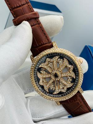 Chopard Genuine Leather Wrist Watch High Quality Warranty; | Watches for sale in Lagos State, Lagos Island (Eko)