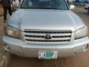 Toyota Highlander 2003 Limited V6 AWD Silver | Cars for sale in Kwara State, Ilorin South