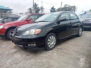 Toyota Corolla 2005 S Black   Cars for sale in Lagos State, Alimosho