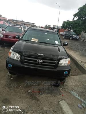 Toyota Highlander 2007 Limited V6 4x4 Black | Cars for sale in Lagos State, Isolo