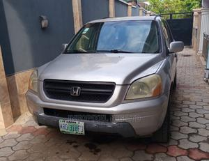 Honda Pilot 2005 EX 4x4 (3.5L 6cyl 5A) Silver | Cars for sale in Lagos State, Ikeja