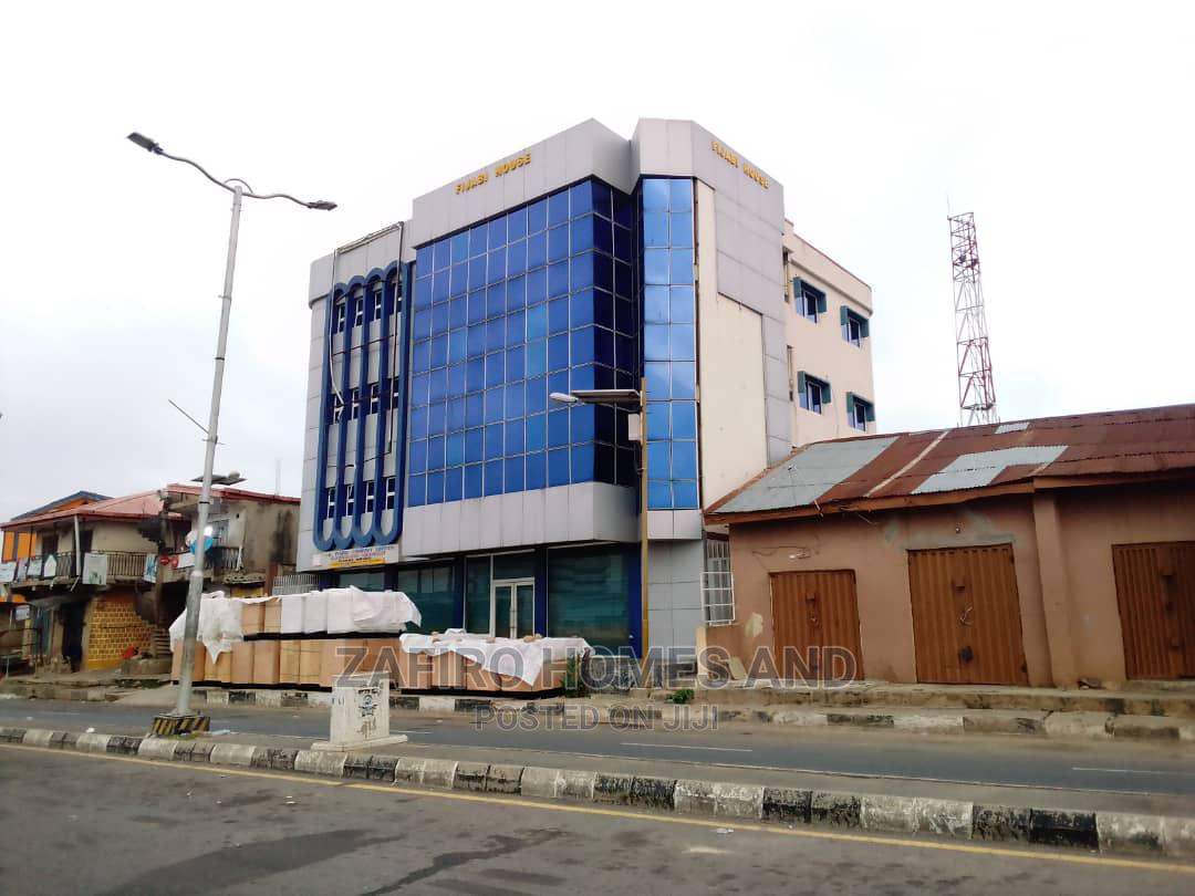 Strategic Open Space Floor on the Main Road at Dugbe Ibadan