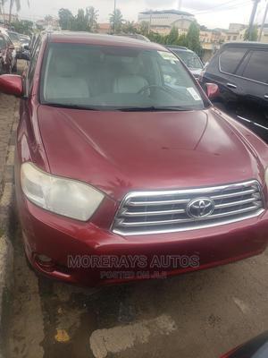 Toyota Highlander 2009 Burgandy | Cars for sale in Lagos State, Ikeja