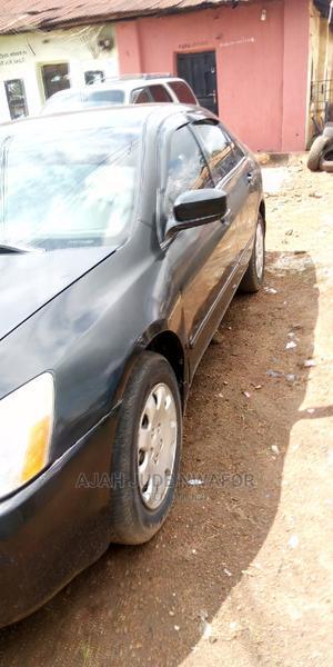 Honda Accord 2005 Sedan LX V6 Automatic Black | Cars for sale in Ebonyi State, Abakaliki