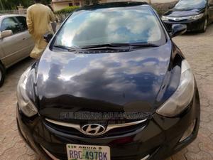 Hyundai Elantra 2013 Black   Cars for sale in Abuja (FCT) State, Wuse 2