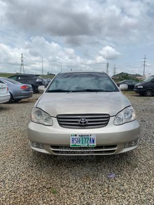 Toyota Corolla 2004 Gold   Cars for sale in Abuja (FCT) State, Lugbe District